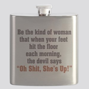 be the kind of woman Flask